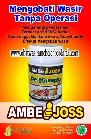 OBAT WASIR NATURAL AMBEJOSS